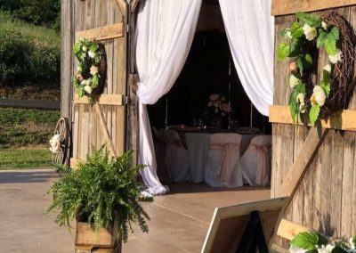 Wedding Event Creekside Barn KY